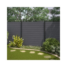 Recyclable & Weather Resistant WPC Garden Fence Wood Plastic Composite Farm Fence
