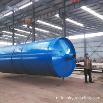 Lanning Plastic machine Recycle afval