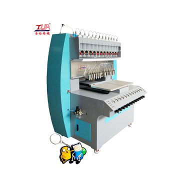 Multicolored Automatic Rubber  Machine Label Sticker