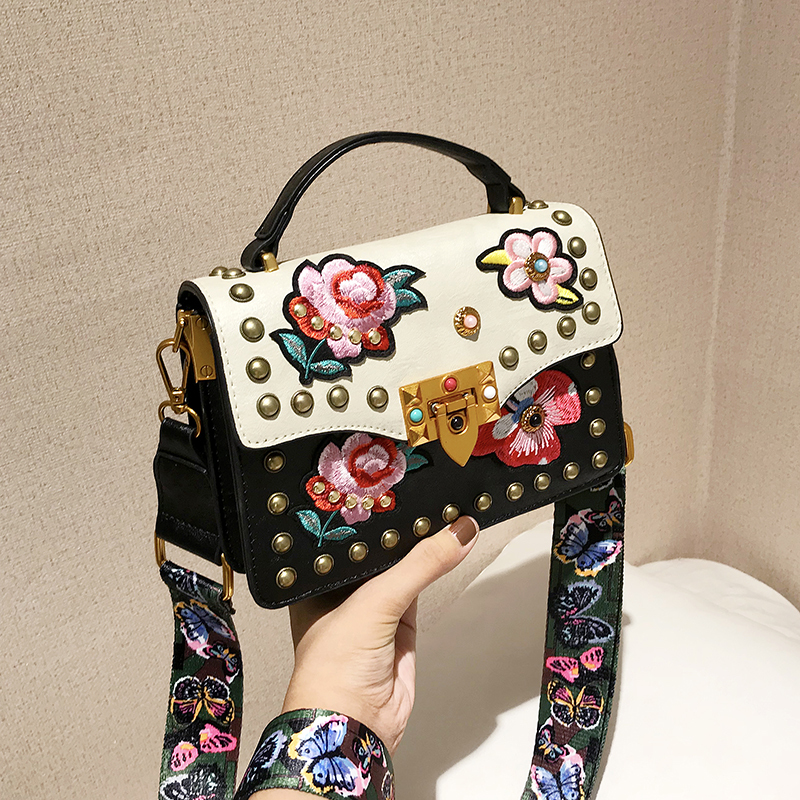 Embroidery Patch Handbag