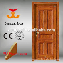 PU foam Thermal Anti Moisture Wpc Frame 45mm Room Steel door