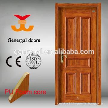 Heat insulating interior room PU foam Steel Door