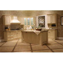 China Wood Kitchen Cabinets Door with Countertop