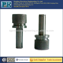 China high precision good quality knurling motorcycle parts