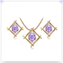 Alloy Jewelry Crystal Jewelry Fashion Jewelry Set (AJS201)