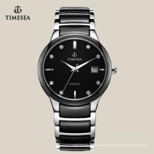 Herren Armbanduhr mit Quarzwerk Gent's Ceramic Watch 72114