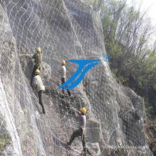 Protection du treillis flexible de montagne