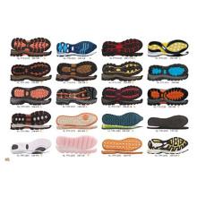 Мода TPR резиновой спортивной обуви Скейтборд обувь Причинная обувь подошвы подошвы (NF01)