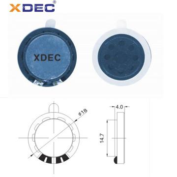 18 мм микро-динамик 8 Ом 0.25 Вт музыкальный игрушечный динамик