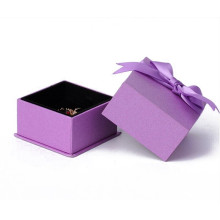 Anpassade Smycken Packaging Ring Present Luxury Paper Box
