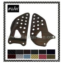 Carbon Fiber Heel Plates for Suzuki Gsxr 600 04-05/Gsxr 750 04-05