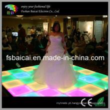 16 Cor Mudança Piscando LED Dance Floor