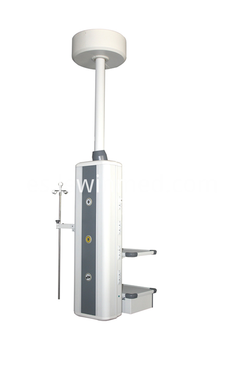 Multifunction manual medical column