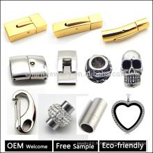 Vente en gros de fermoir en acier inoxydable pour bracelet en cuir faisant des bijoux Trouver un échantillon gratuit et bienvenue OEM BX998