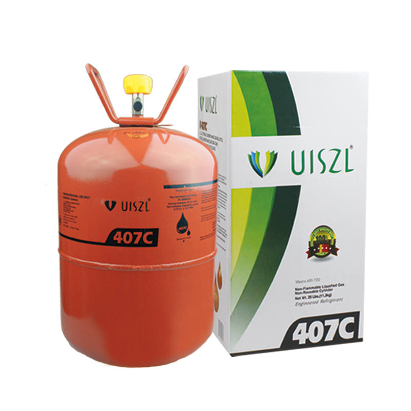 R12 retrofitted refrigerant gas
