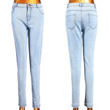 Jeans Tecidos Branco com Little Elastic