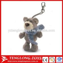 Animales personalizados peluche oso de peluche juega llavero de peluche