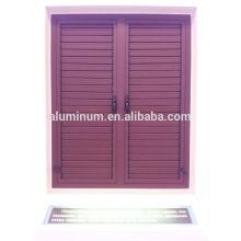 50B series aluminum shutters casement window
