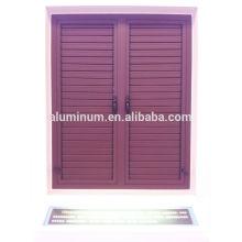 Janela série de janelas de persianas de alumínio série 50B