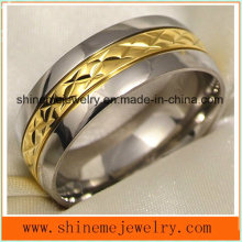 Shineme Jewelry High Quality Hot Selling Titanium Jewelry Ring (TR1857)