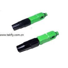 Fiber Optic Sc Fast Connector APC / Upc