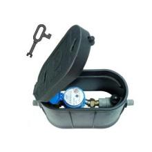 Kunststoff-Wasserzähler-Box
