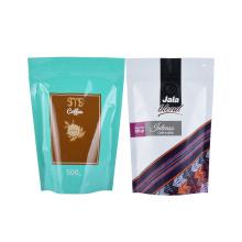 Smell Proof Kraft Paper Stand up Zipper Coffee Tea Bags