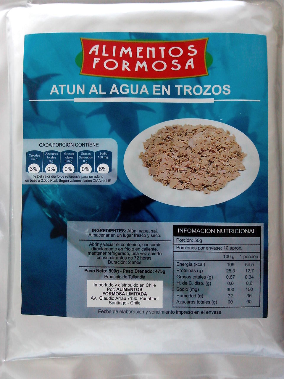 Pouched Tuna 1kg