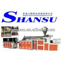 Machine de profil bois WPC Composite plastique