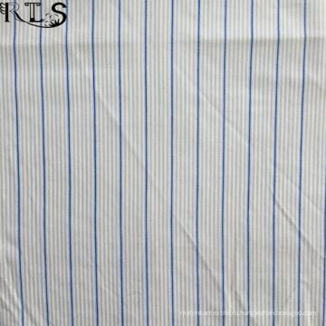 Хлопок поплин сплетенные нити, окрашенные ткани для одежды рубашки/платье Rls40-2po