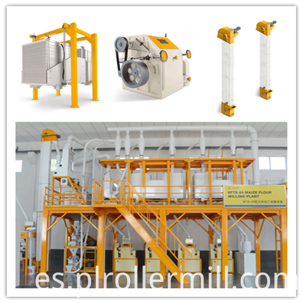 24T Maize Flour Milling Machine