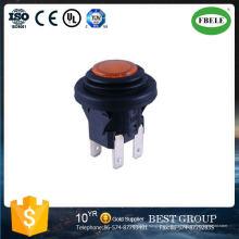 Interruptor de botón Waterprof Interruptor de botón de 20 mm