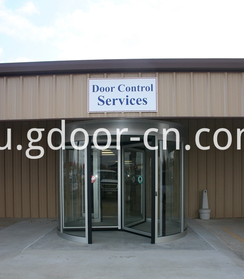 Three-wing Automatic Revolving Doors for Companys