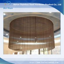 Rideau en treillis métallique / rideau décoratif en maille / décoration de plafond