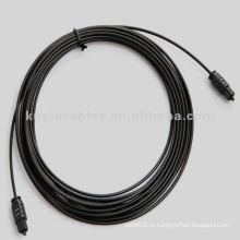 Цифровой оптический аудиокабель - Литой - M / M, 16FT / 5 M, Черный