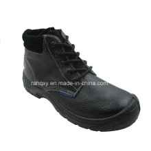 Full Suede Lining and Tongue Safety Shoe (HQ03019)