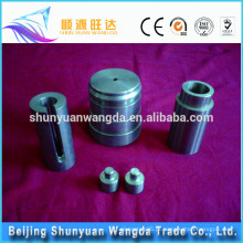 Menor custo personalizado precisão CNC peças de carboneto de tungstênio Fabricante