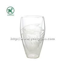 Bouteille en verre à double paroi Ice (8 * 4.5 * 14 300ml)