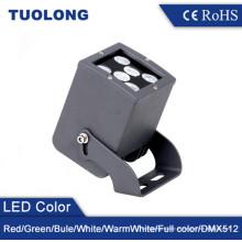 Pared cuadrada que enciende la luz de pared de 12W LED IP65