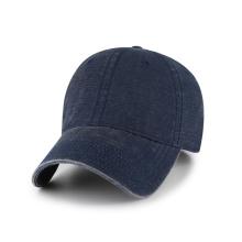 gorra de béisbol de lona de bambú con hebilla de metal