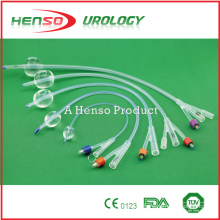 Disposable Silicone Foley Catheter with Balloon