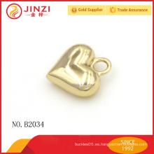 De alta clase personalizados colgantes encantos accesorios de moda accesorios de metal etiquetas al por mayor