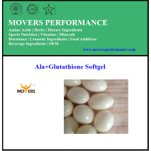Meilleur produit de qualité supérieure Ala + Glutathione Softgel