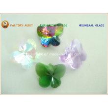 Papillon de cristal lustre/chaine/collier/papillon