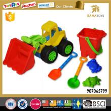 Venta al por mayor de coche de juguete de playa con cubo