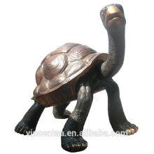 bronze de alta qualidade pequena escultura de tartaruga de água / tartaruga de metal / tartaruga de bronze