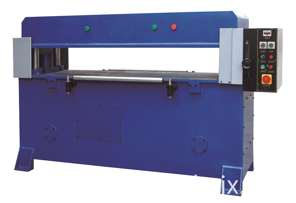 Hydraulic punching machine for blister packaging