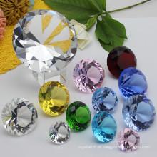 Ofício de diamante de vidro de cristal para a lembrança do presente de casamento