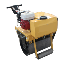 single drum walk behind road roller