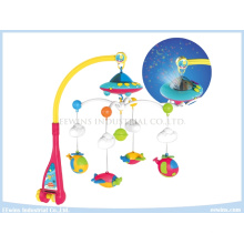 Electronic Musical Toys Projective Baby Mobiles on Crib for Baby